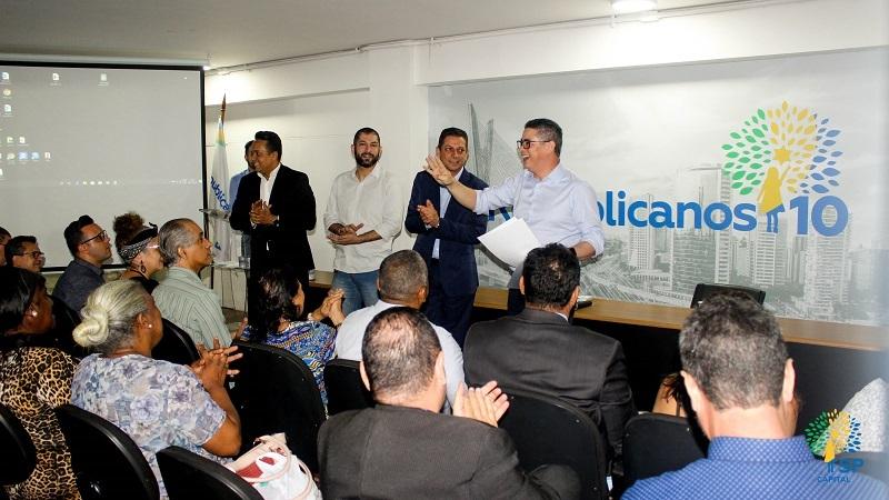 Palestra com João Farias reuniu mais de 100 pré-candidatos